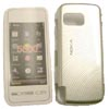 Nokia 5230 / 5800 XpressMusic Hard Shell Case [ SILVER ] <br>QuickFind: 6628