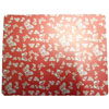 Xpert Systems  Novelty Mouse Mat [ RED BUTTERFLY PRINT ] <br>QuickFind: 7354