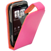 HTC Wildfire G8 Leather Flip Mobile Phone Case [ PINK ] <br>QuickFind: 7358