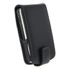 HTC Aria G9 Leather Flip Mobile Phone Case [ BLACK ] <br>QuickFind: 7362