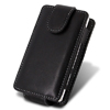 Blackberry 9800 TORCH Leather Flip Mobile Phone Case [ BLACK ] <br>QuickFind: 7364