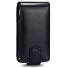 Sony Ericsson X10 MINI Leather Flip Mobile Phone Case [ BLACK ] <br>QuickFind: 7365