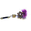 Xpert Systems  Mobile Phone Charm [ PURPLE DIAMANTE BLING ] <br>QuickFind: 7390
