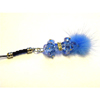 Xpert Systems  Mobile Phone Charm [ BLUE DIAMANTE BLING ] <br>QuickFind: 7393