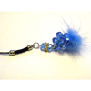 Xpert Systems  Mobile Phone Charm [ BLUE DIAMANTE BLING ] <br>QuickFind: 7394