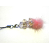 Xpert Systems  Mobile Phone Charm [ PINK DIAMANTE BLING ] <br>QuickFind: 7396