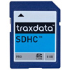 Traxdata 8GB Class 2 Secure Digital High-Capacity Memory Card (SDHC) <br>QuickFind: 7480
