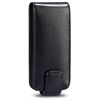 HTC Wildfire G8 Leather Flip Mobile Phone Case [ BLACK ] <br>QuickFind: 7488