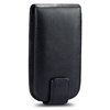 HTC Aria Liberty G9 Leather Flip Mobile Phone Case [ BLACK ] <br>QuickFind: 7490