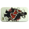 Apple iPhone 4G Soft Back Cover - Gel Case [ LOVE HEARTS ] <br>QuickFind: 7506