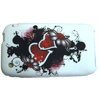 Apple iPhone 3G/3GS Soft Back Cover - Gel Case [ LOVE HEARTS ] <br>QuickFind: 7507