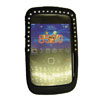 Blackberry 9300 / 8520 Curve Bling Diamante Gel Cover [ DIAMANTE BLACK ] <br>QuickFind: 7583