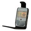 Blackberry 8520 / 9300 Curve Leather Flip Mobile Phone Case [ BLACK ] <br>QuickFind: 7595