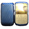 Blackberry 9300 / 8520 Curve Crystal Cover [ BLACK - FRONT AND BACK ] <br>QuickFind: 7652