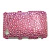 Blackberry 9300 / 8520 Curve Crystal Bling Diamante Cover [ PINK ] <br>QuickFind: 7671