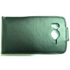 HTC Desire HD Leather Vertical Flip Mobile Phone Case [ BLACK ] <br>QuickFind: 7707