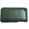 Apple iPhone 3G Diamante Bling Mobile Phone Cover - [ BLACK DIAMANTE ] <br>QuickFind: 7725