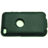 Apple iTouch 4G Hard Back Cover with Gel Inner - [ BLACK ] <br>QuickFind: 7730