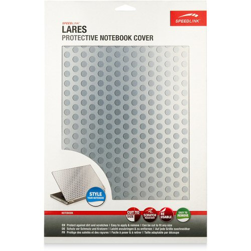 Lares  Protective Notebook Cover - Metal Bubble (Speed Link) QuickFind: 6595